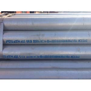 ASTM A153 Galvanized Steel Pipe, BE, SCH STD