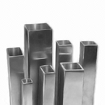 Square Stainless Steel Pipe, ERW, TP304, TP316